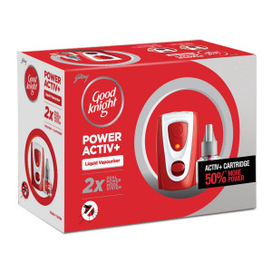 Godrej Good Knight Power Active (Dual Power) Machine + Refill