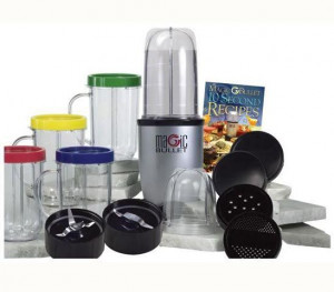 Magic Bullet Deluxe 21 Pc Set Blender Mixer High Speed Magic Bullet