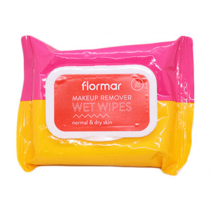 Original Flormar Co. & Oily Skin Makeup Remover Wet Wipes 20 pcs