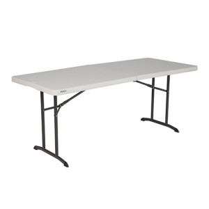 Lifetime Commercial Grade Fold-In-Half Table 6 Feet