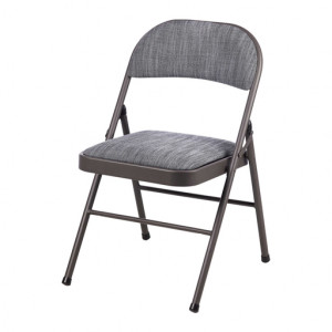 Maxchief Metal Padded Folding Chair
