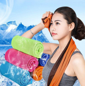 Microfiber Instant Cooling Ice Towels