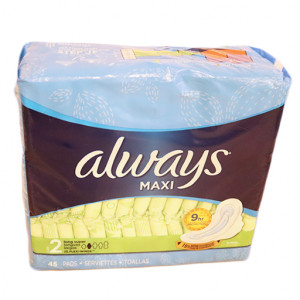 ORiginal Always Infinity Flex Foam Regular Size 1 Pads 18 pcs