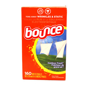 Original Bounce Fabric Softener Dryer 160 Sheets