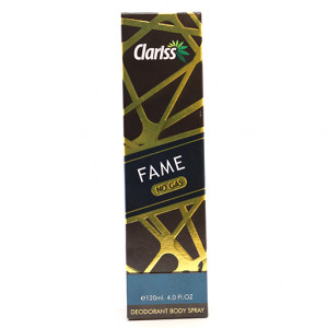 Original Clariss Fame No Gas Body Spray 120 ml
