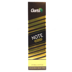 Original Clariss Note No Gas Body Spray 120 ml