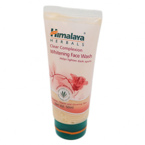 Original Himalaya Clear Com. Whitening Face Wash 50 ml