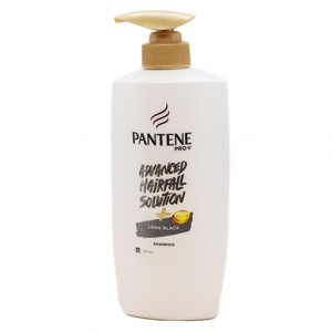 Original Pantene Advanced H.S. Long Black Shampoo Pump 650 ml