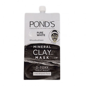 Original Ponds Pure White Mineral Clay Mask 8 gm