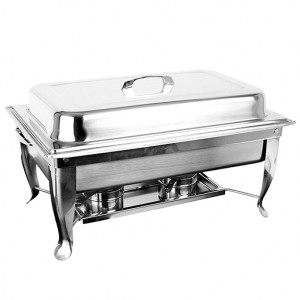 Original Thunder Group Full Size Welded Spe. Cookware Chafer 8 QT
