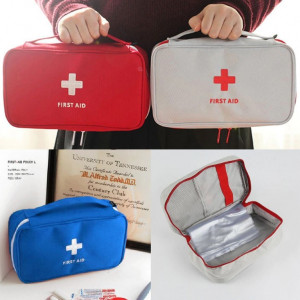 Portable First Aid Kit Bag Large