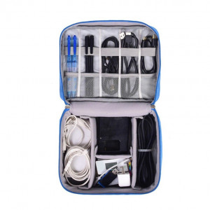 Portable Waterproof Travel Cable Organizer Bag