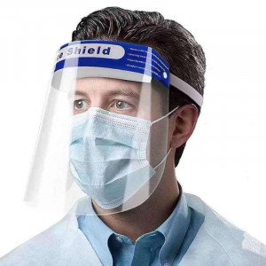 TRANSPARENT FACE EYES PROTECTOR SAFETY SHIELD