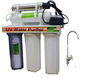 Hruv501 Stage 5 UV Water Purifier - White