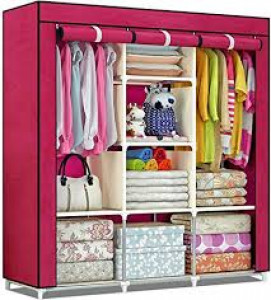 Cloth Storage Rack – Maroon
