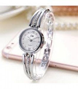 Ladies Stainless Steel Bracelet Watches Women Fashion Diamond Dial Quartz Analog Watch Female Clock