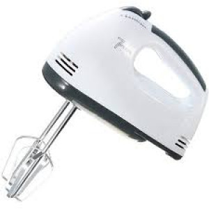 Multi-Function Hand Mixer - White