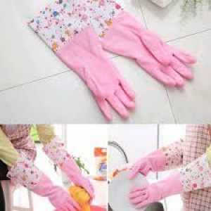New Fashion Waterproof Oil Dishwashing Gloves