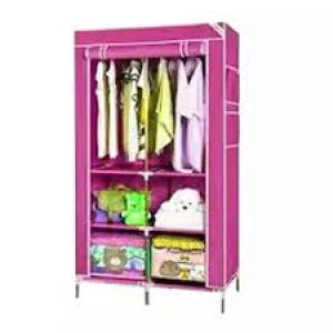 Cloth Storage Rack - Purple