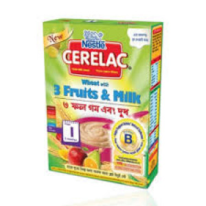 Nestlé Cerelac 1 Wheat With 3 Fruits