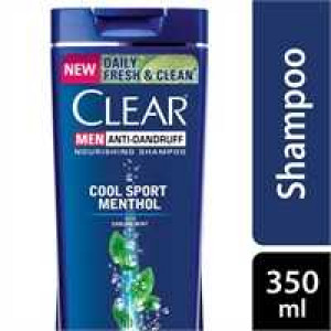 Clear Shampoo Men Cool Sport Menthol Anti Dandruff