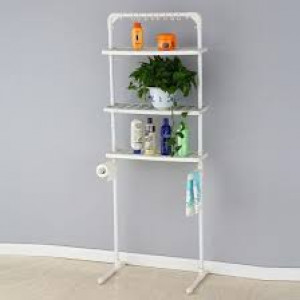Multi Function Cloth Rack Or Bathroom Shelf