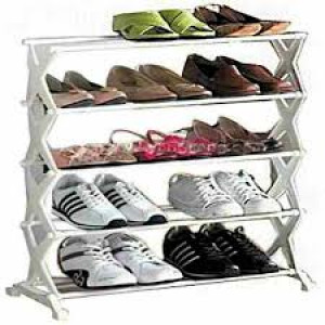 Portable 5 Tier Shoe Rack