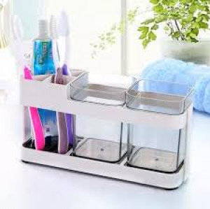 Creative Bathroom Wash Set Couple Toothbrush Holder Mouthwash Cup Brushing Tooth Cup Toothpaste Holder