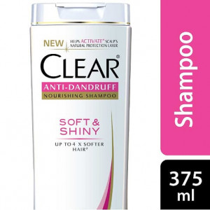 Clear Shampoo Soft & Shiny Anti Dandruff