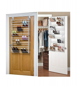 18 Layers Over-The-Door Shoe Rack